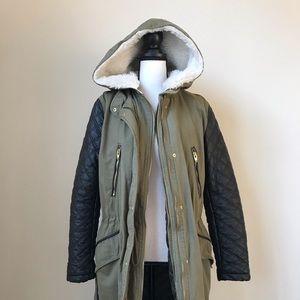 Olive Winter Coat